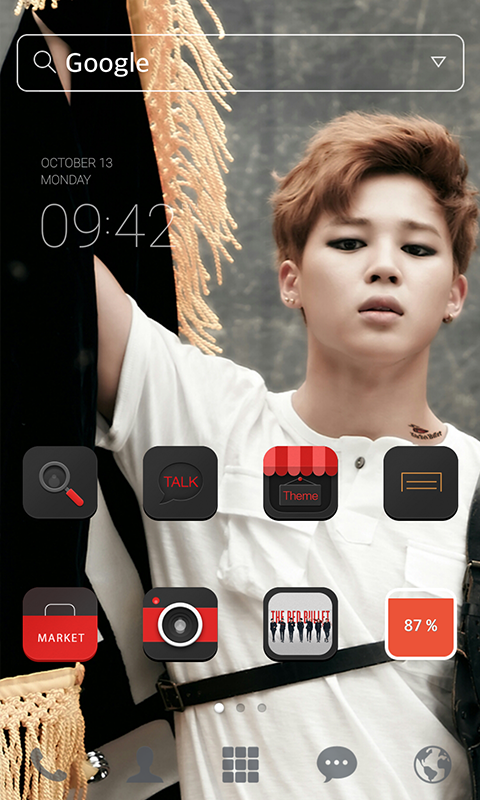 bts jimin line launcher theme   android apps on google play