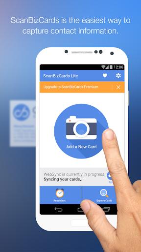 ScanBizCards Lite - Scan Card