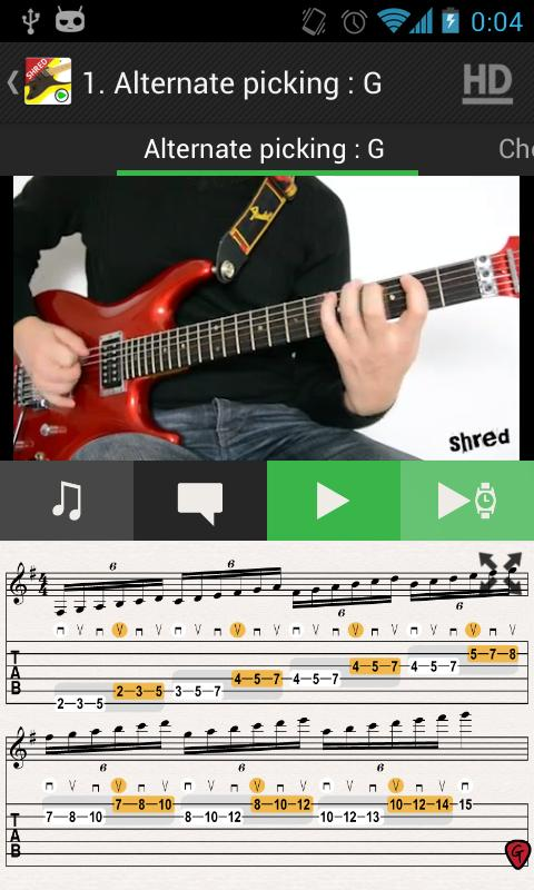 Guitar Solo SHRED HD VIDEOS - screenshot