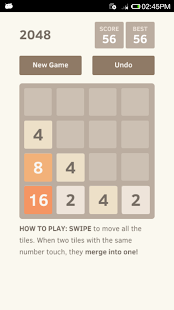 2048 Undo unlimited- screenshot thumbnail