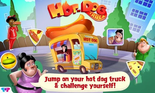 Hot Dog Truck:Lunch Time Rush
