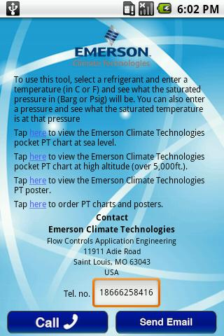 Emerson PT Pro- screenshot