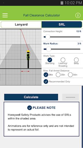 Fall Clearance Calculator