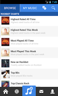 Rockbot - Social Jukebox App- screenshot thumbnail
