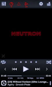 Neutron Music Player screenshot 0