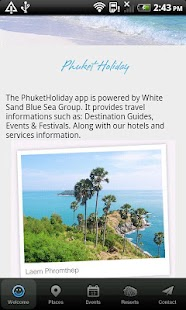 Phuket Holiday - screenshot thumbnail