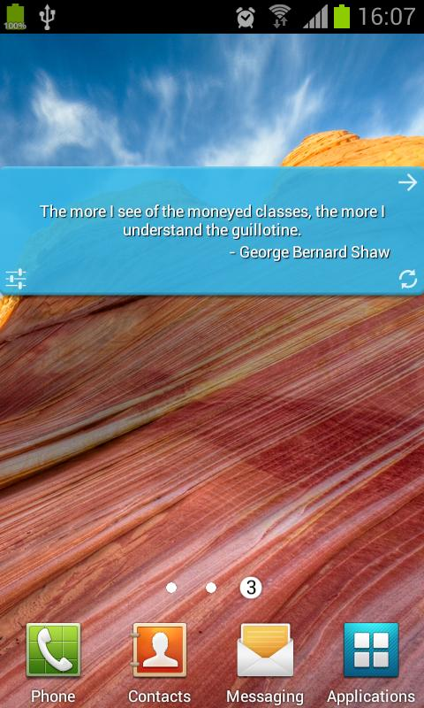 Money Quotes - screenshot