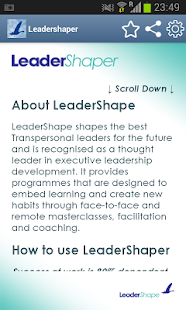 Leadershaper App- screenshot thumbnail