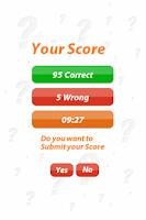 Screenshot of Arab Uprising - 100Q Quiz