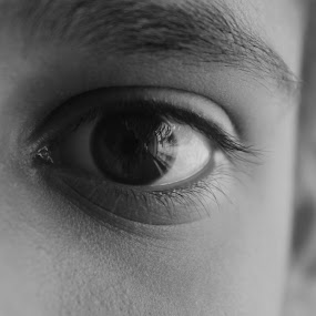 by Soumen Mitra - Black & White Macro ( people, eyes )