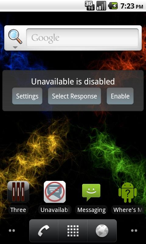Unavailable - screenshot