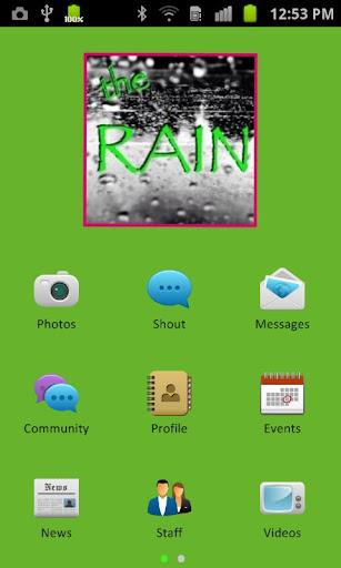 Rain Teen Center app