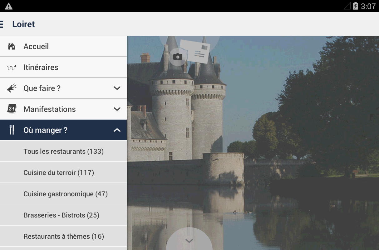 Loiret Tour- screenshot