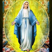 Glowing Virgin Mary HD LWP