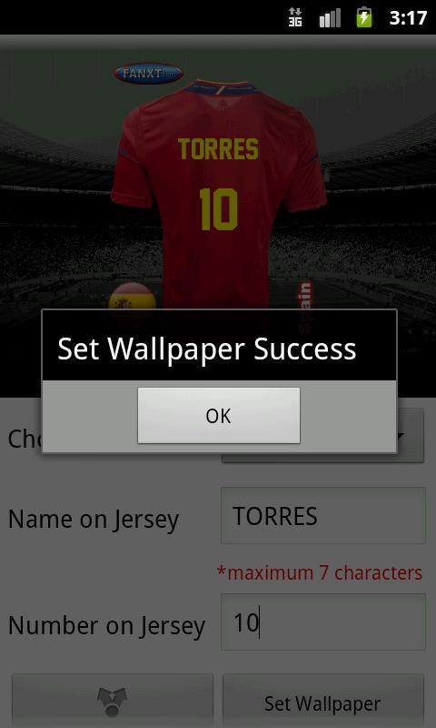 Make Euro Jersey - screenshot
