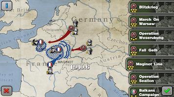Screenshot of Glory of Generals HD