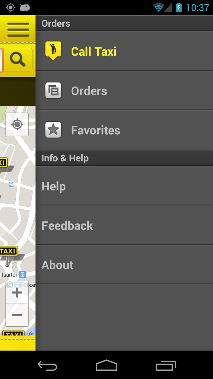 cab4me taxi finder screenshot #4