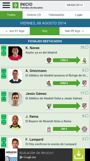 Resultados de Futbol