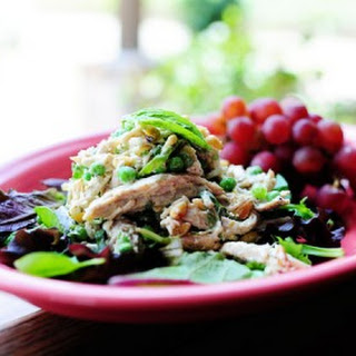 Lemon Basil Chicken Salad.