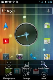 ICS Blue CM7 Theme- screenshot thumbnail