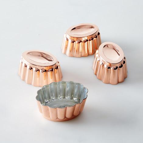 Copper Mini Molds