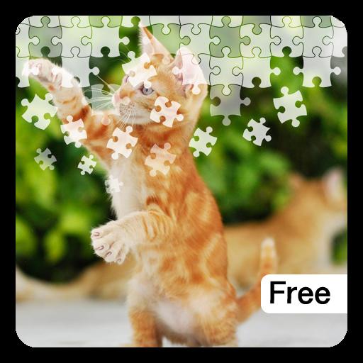Cute Cats Jigsaw Puzzles LOGO-APP點子