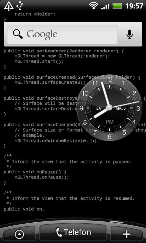 Coder's Live Wallpaper Unlock - screenshot