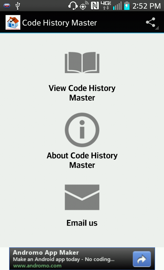 Code History Master- screenshot