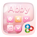 Abby GO Launcher Theme icon