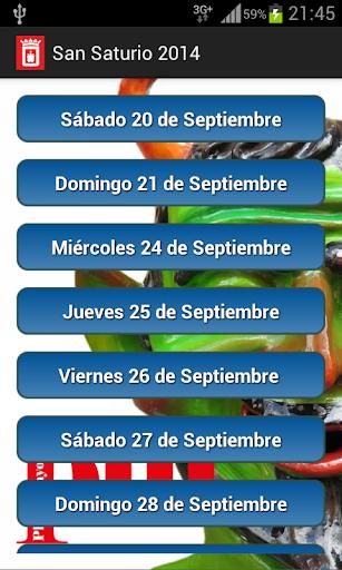 Fiestas San Saturio 2014
