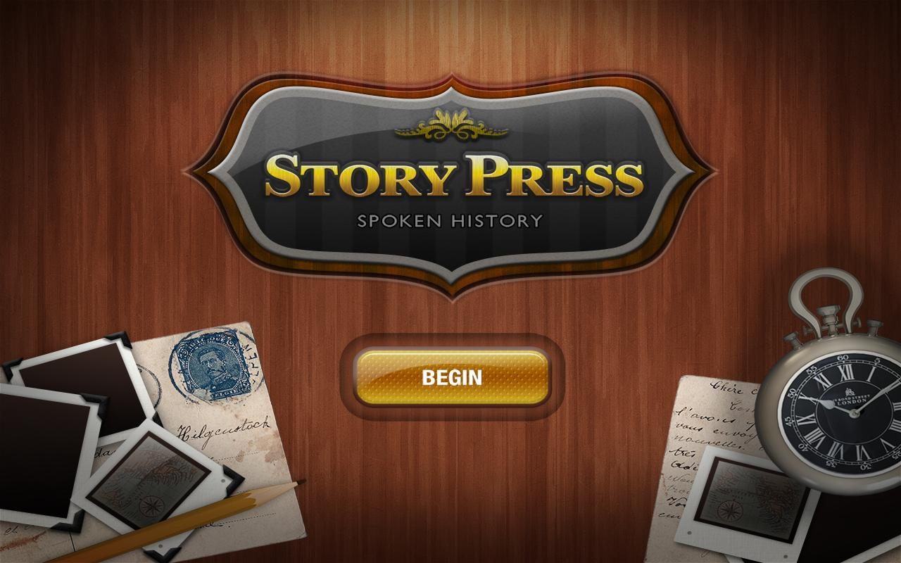 StoryPress - screenshot