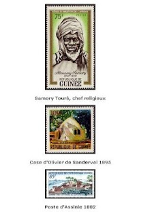 Timbres d'Afrique - screenshot thumbnail