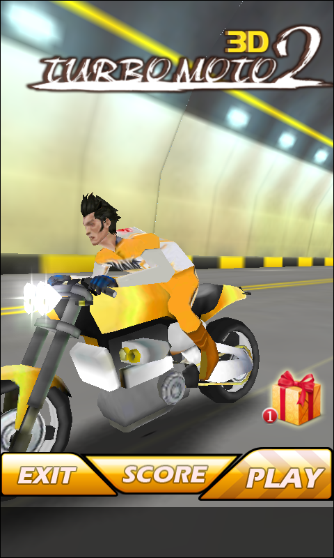 3D Turbo Moto 2 - screenshot