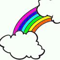 Rainbow Color Book icon