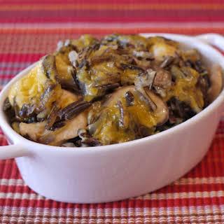 Chicken & Wild Rice Casserole.