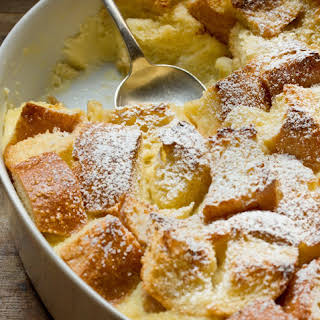 Eggnog Breakfast Bread Pudding.