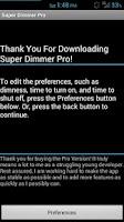 Screenshot of Super Dimmer Pro