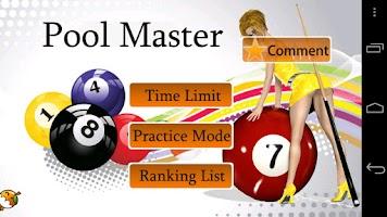 Screenshot of Pool Master Pro