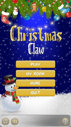 Christmas Prize Claw Machine