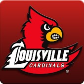 Louisville Cardinals Clock