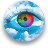 Intelligent color blindness logo