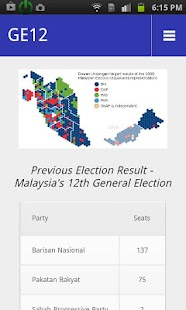 Vote 4 GE13- screenshot thumbnail