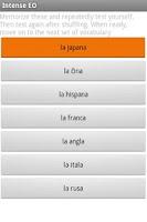 Screenshot of Intense Esperanto