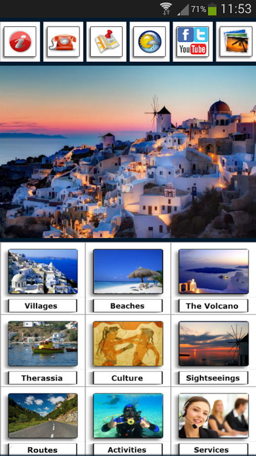 Santorini my Guide - screenshot