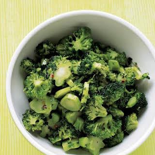 Spicy Chopped Broccoli.