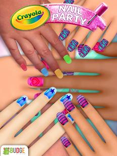 Crayola nail party nail salon android apps on google play crayola nail party nail salon screenshot thumbnail prinsesfo Images