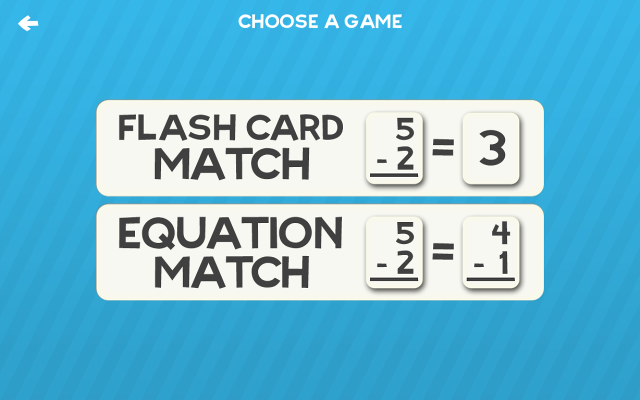 Subtraction Flash Card Kids- screenshot