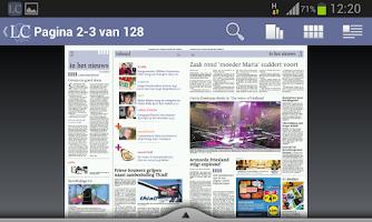 Screenshot of LC Krant