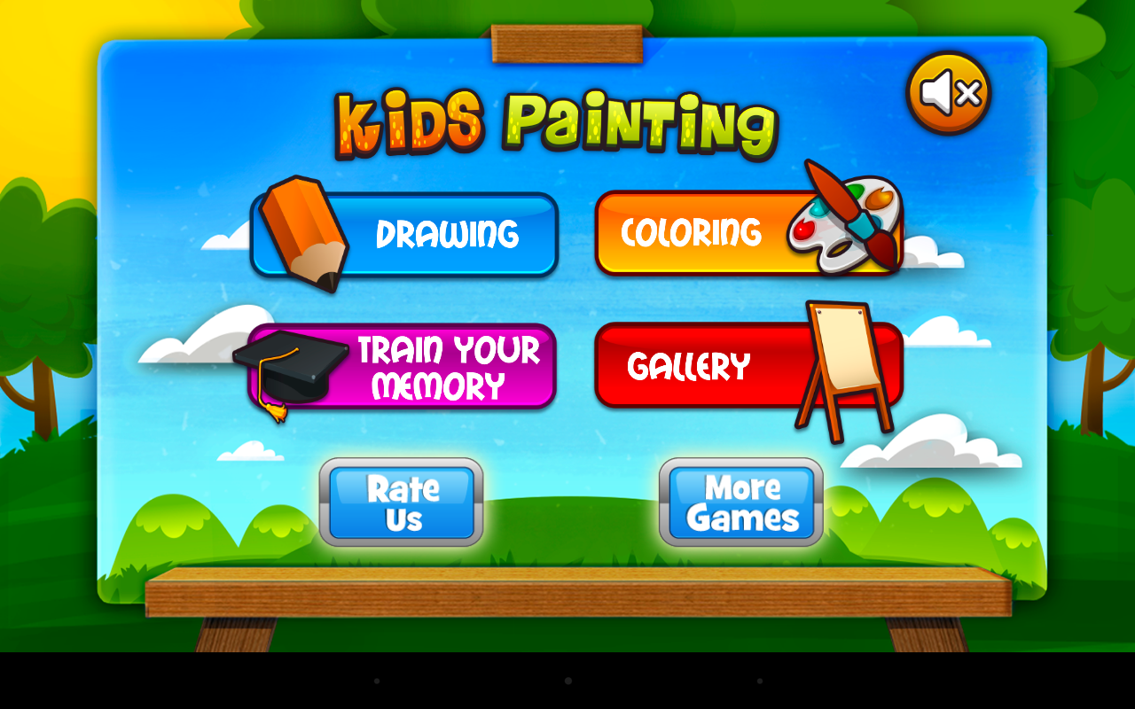 Kids painting lite android apps on google play for Online drawing app