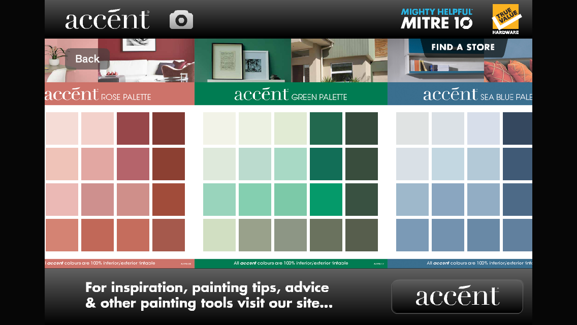 Mitre 10 Virtual Wall Painter- screenshot
